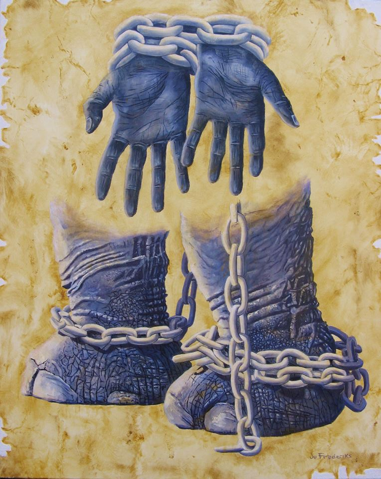 Jo Frederiks - Abolish ALL Slavery